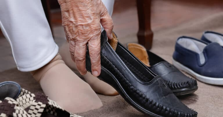 Comfortable and safe shoes for seniors